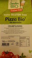 Pizza Bio' au sarrasin Champignons - Produit