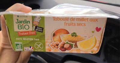 Taboulé au millet et fruits secs sans gluten - Produit - fr