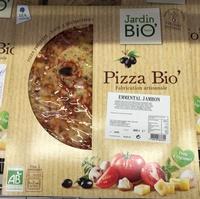 Pizza fromage jambon - Produit - fr