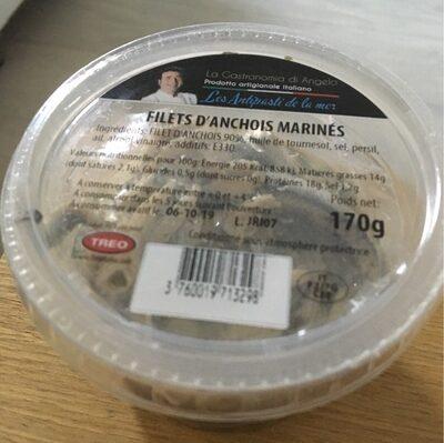 Filets D'anchois Marinés - Voedigswaarden