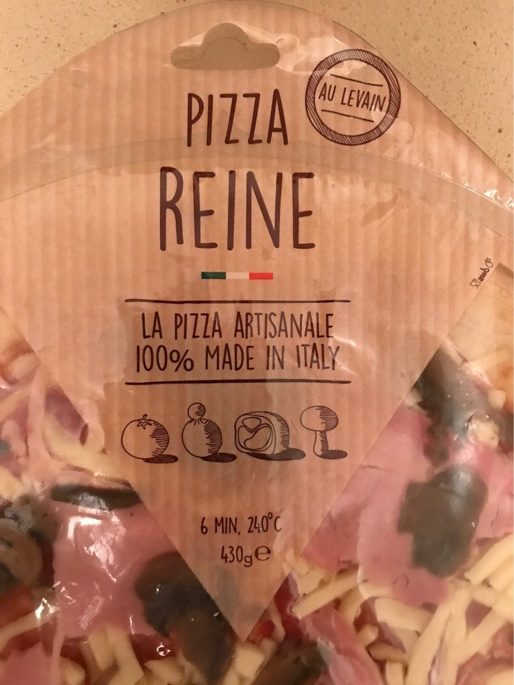 Pizza Reine - Product