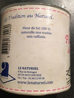 Fleur de sel de Guérande - Ingrediënten - fr