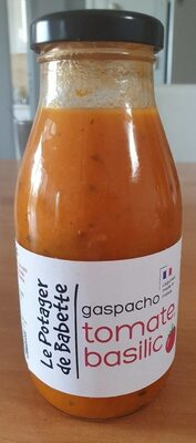 Gaspacho tomate basilic 25cl - Product - fr