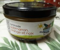 Tartinade potimarron orange et noix - Product - fr