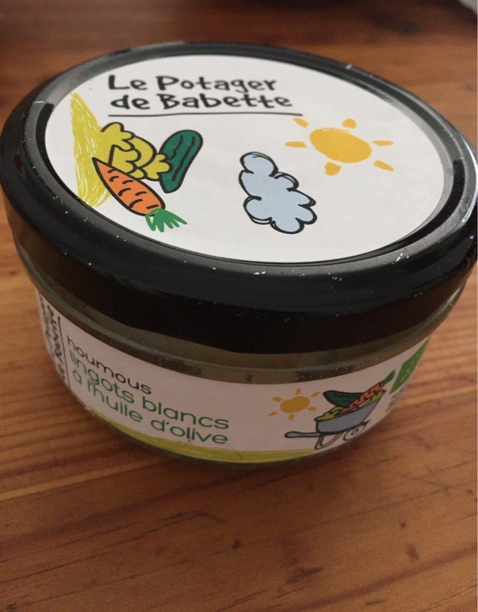 Houmous de lingots blancs - Product - fr