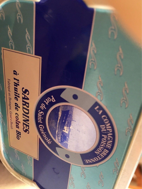Sardines a l'huile de colza bio - Produit - fr