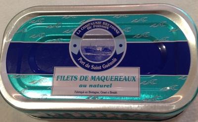 Filets de maquereaux au naturel - Produkt - fr