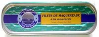 Filets de maquereaux à la moutarde - Prodotto - fr