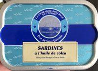 Sardines a l'huile de colza - Produit - fr