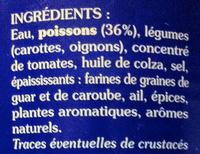 Soupe de Poissons - Ingrédients - fr