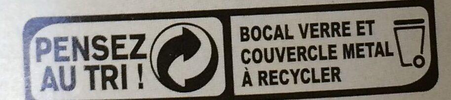 Pois chiches - Istruzioni per il riciclaggio e/o informazioni sull'imballaggio - fr