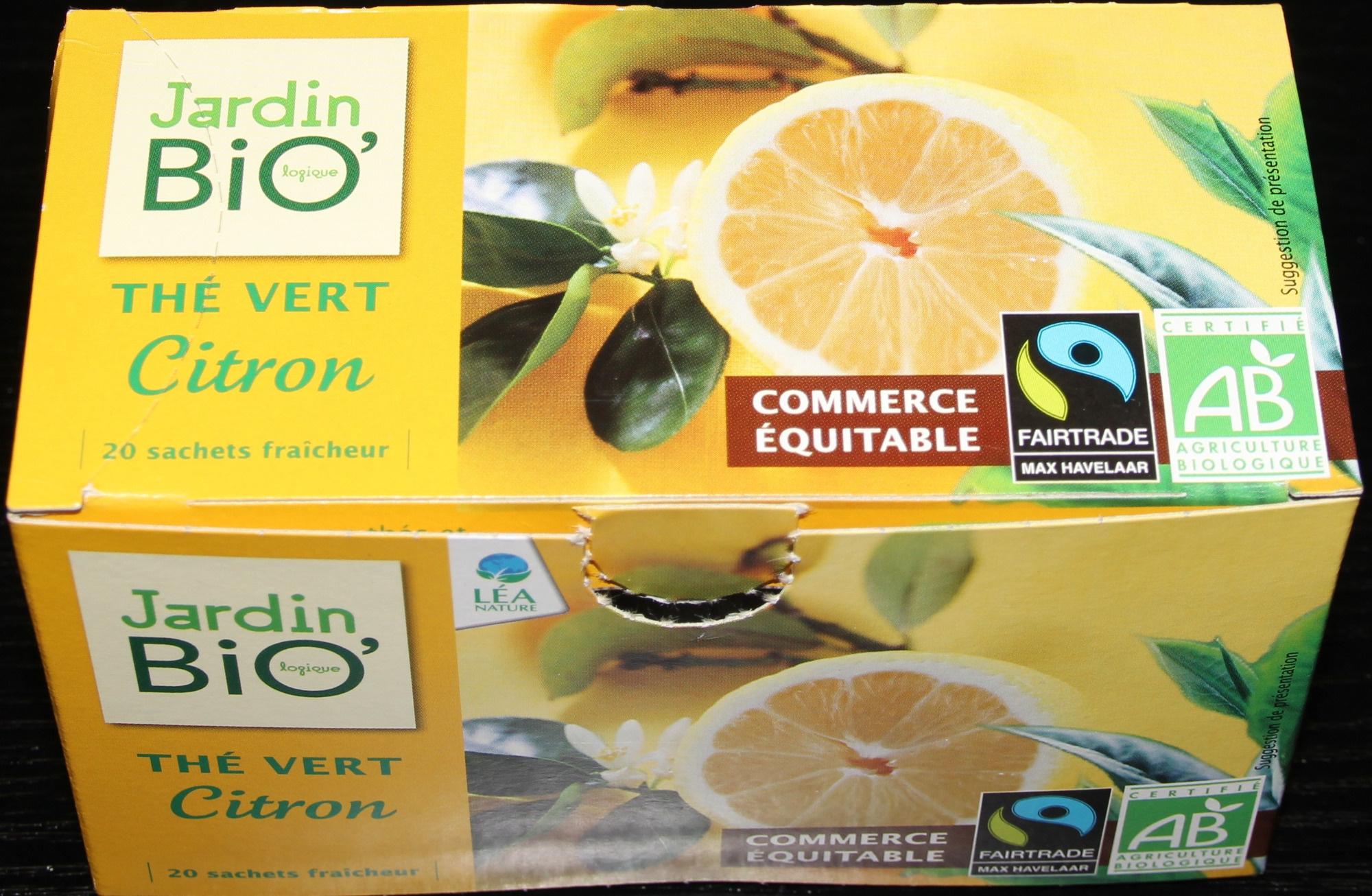 Thé vert citron - Product - fr