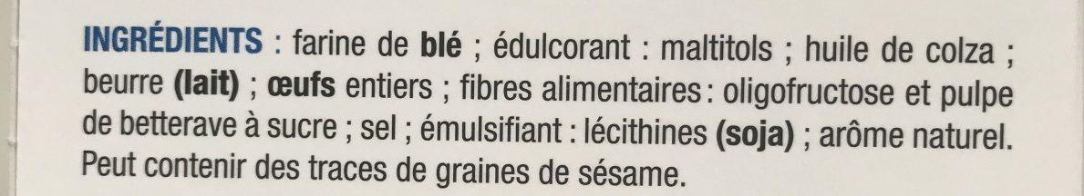 Fines Gaufres sans sucres - Ingrediënten - fr