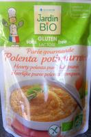 Jardin Bio - Polenta potimarron - Produit - fr