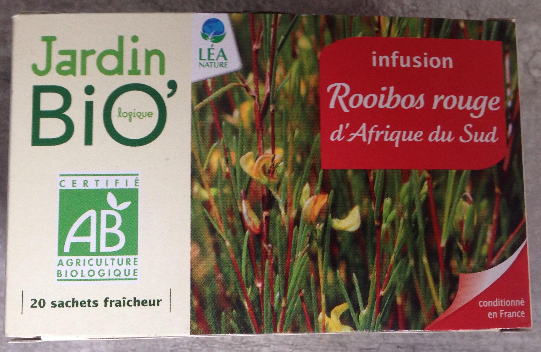 Infusion Rooibos rouge d'Afrique du Sud - Jardin Bio - 20
