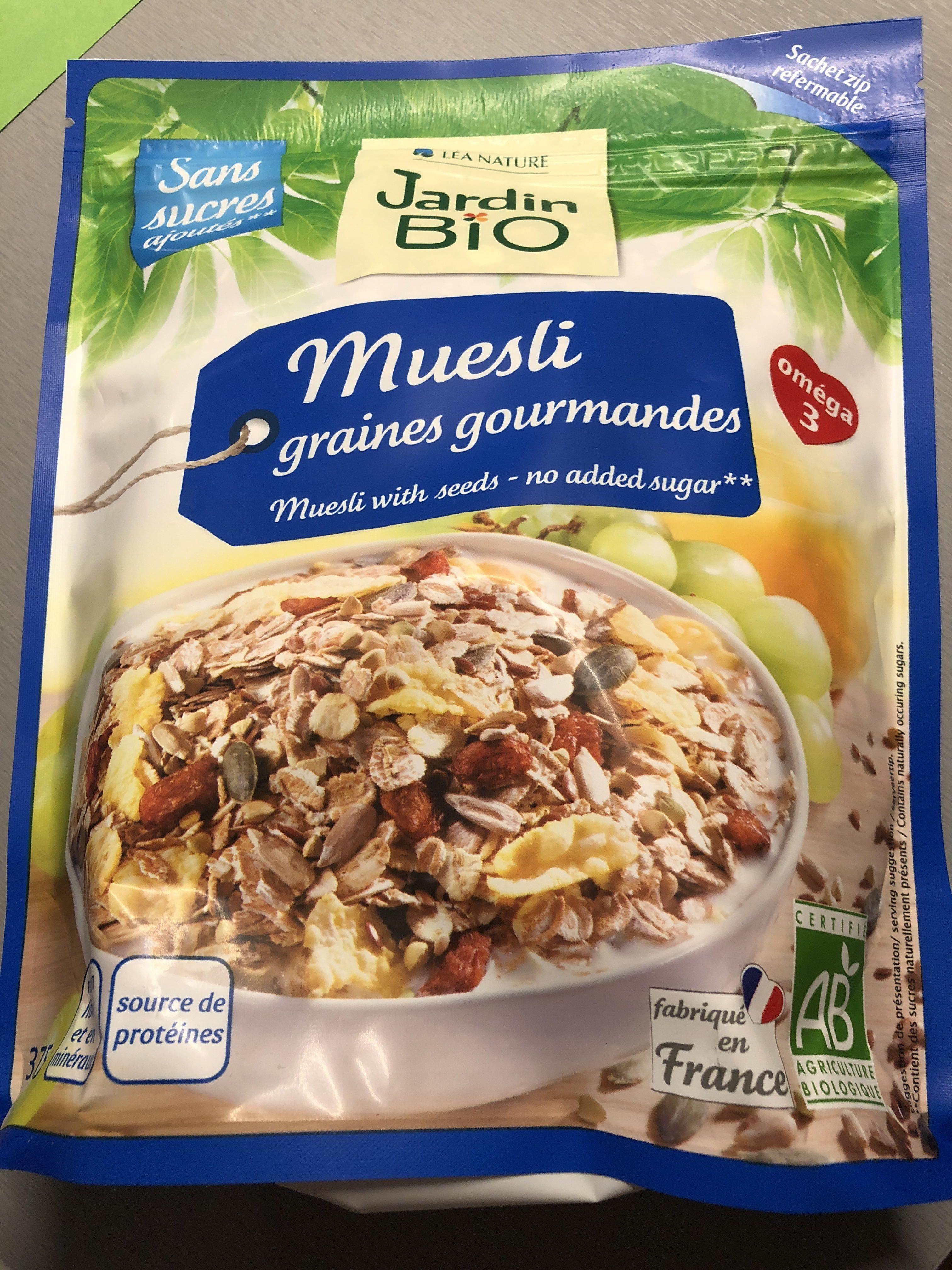 Müesli graines gourmandes - Product - fr