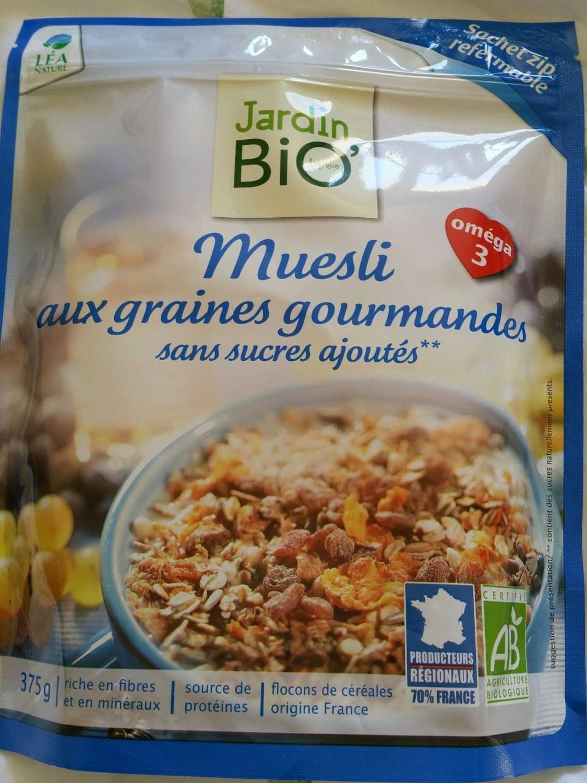 Muesli graines gourmandes - Product