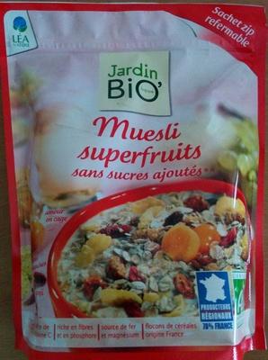 Muesli superfruits sans sucres ajoutés - Produit - fr