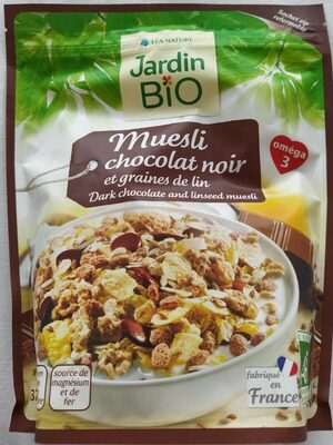 Muesli chocolat noir et graines de lin - Product - fr