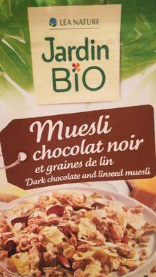 Muesli chocolat noir et graines de lin - Produit - fr