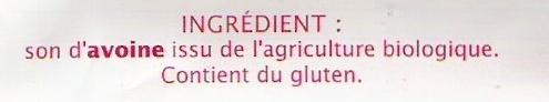 Son d'avoine - Ingredients - fr