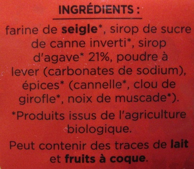pain d épice - Ingrediënten - fr