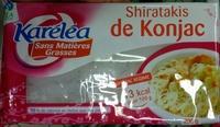Shiratakis de Konjac - Produit
