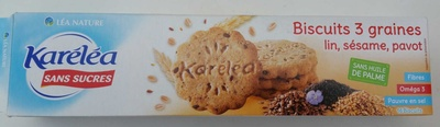 Biscuits 3 graines - Product