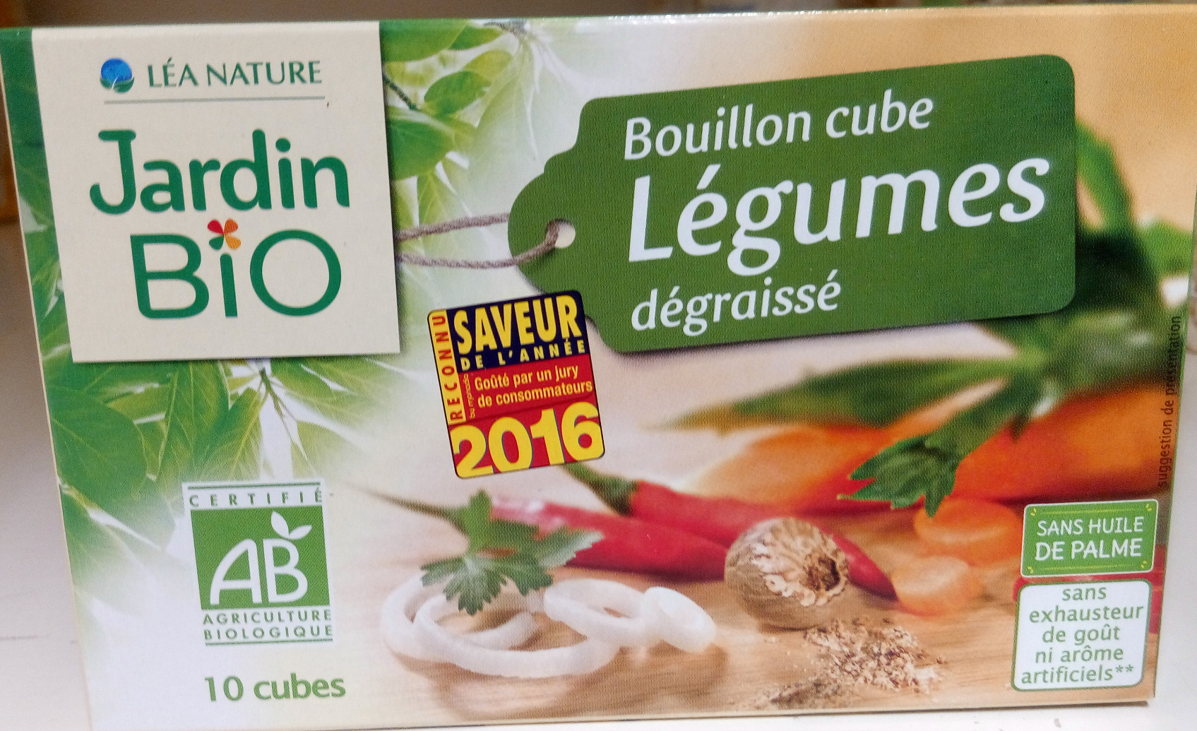 Bouillon cube l gumes d graiss l a nature jardin bio for Jardin foods
