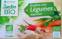 Bouillon cube légumes dégraissé - Produit - fr