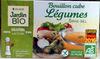 Bouillon cube Légumes sans sel - Product