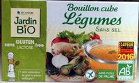 Bouillon cube Légumes sans sel - Product - fr