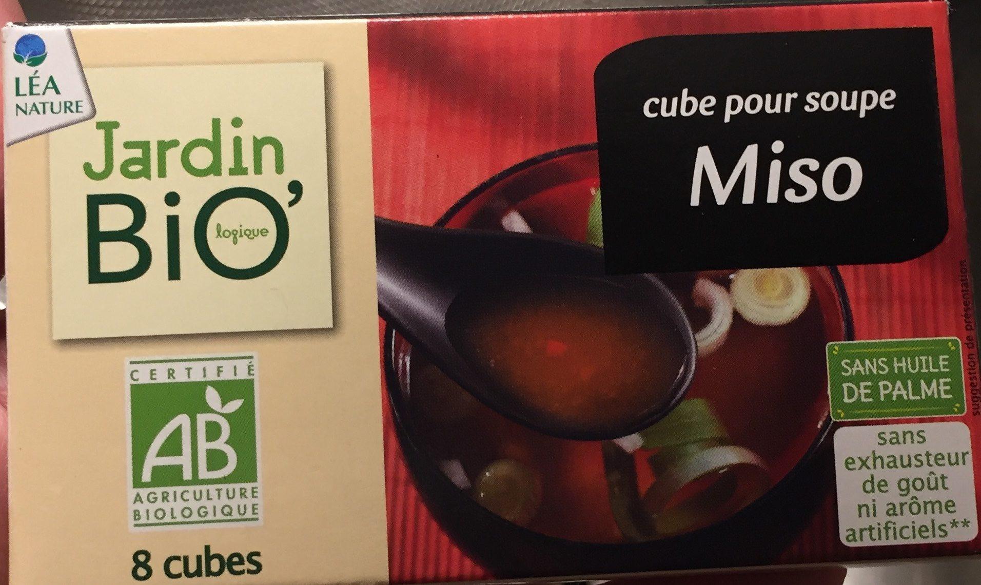 Cube Pour Soupe Miso Jardin Bio - Produit - fr