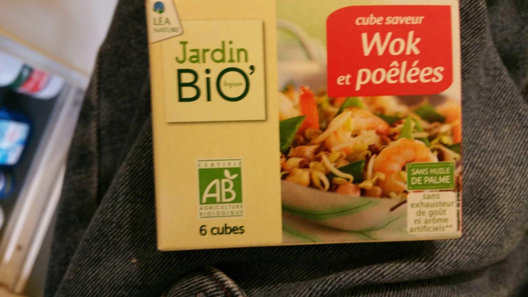 Cube Jardin cube saveur - jardin bio - 66 g e