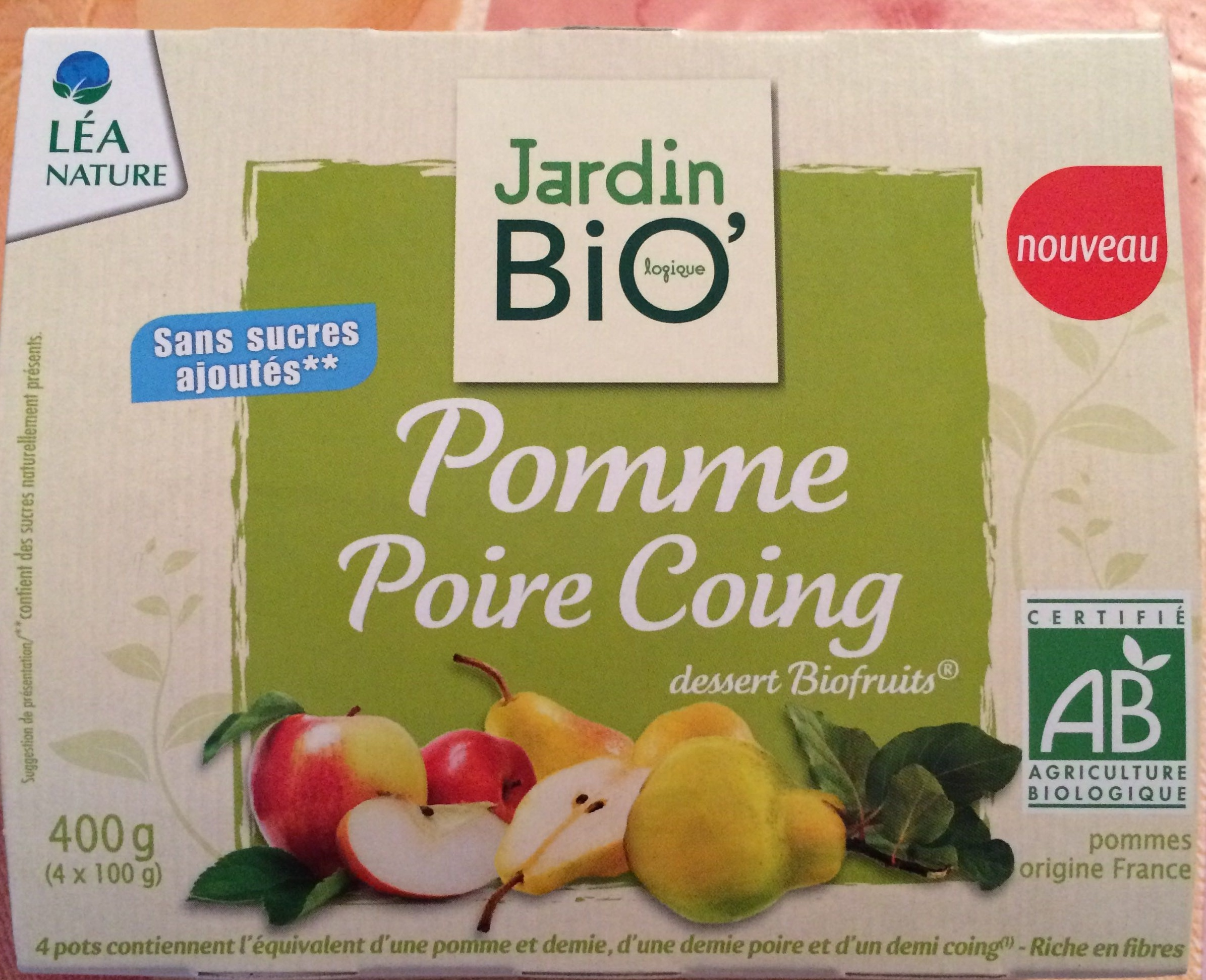 Pomme poire coing - Product - fr