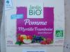 Desert BioFruits Pomme Myrtille Frambroise - Produit