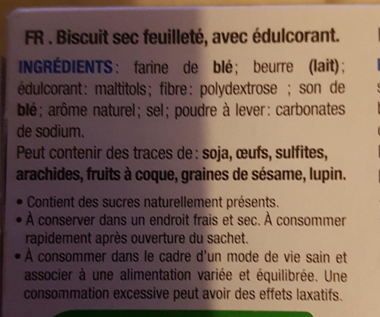 Palmiers Dorés - Ingrédients - fr