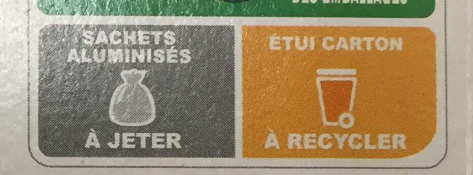 Palmiers Dorés - Instruction de recyclage et/ou informations d'emballage - fr