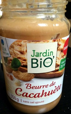 Beurre de cacahuètes Léa nature - Product