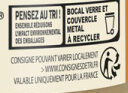 Pur beurre de cacahuète - Recycling instructions and/or packaging information - fr