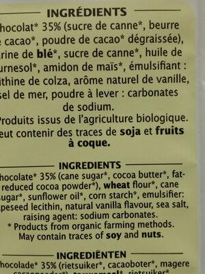 Nos gaufrettes croustillantes - Ingredients - fr