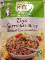 Duo Sarrasin et Riz - Product