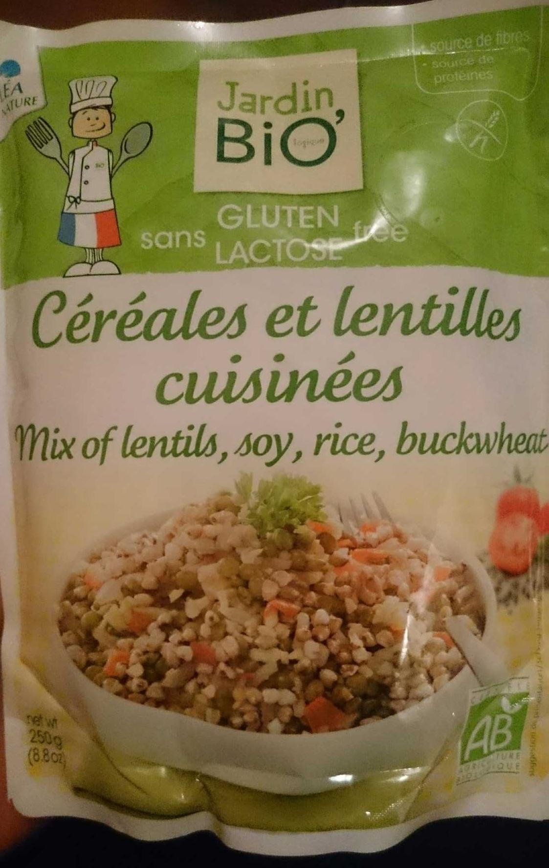 Céréales et lentilles cuisinées - Product