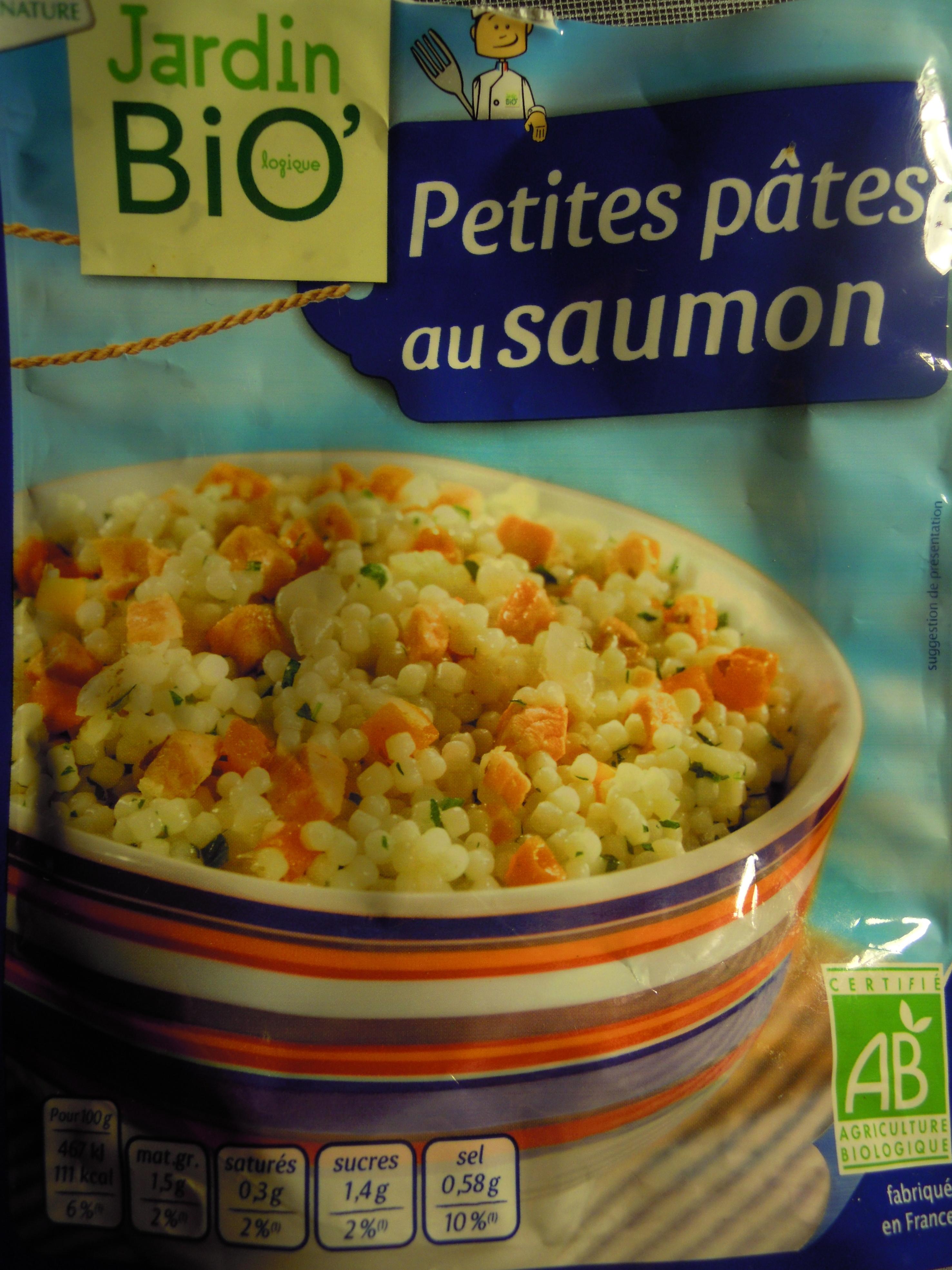 Petites Pâtes au Saumon - Product - fr