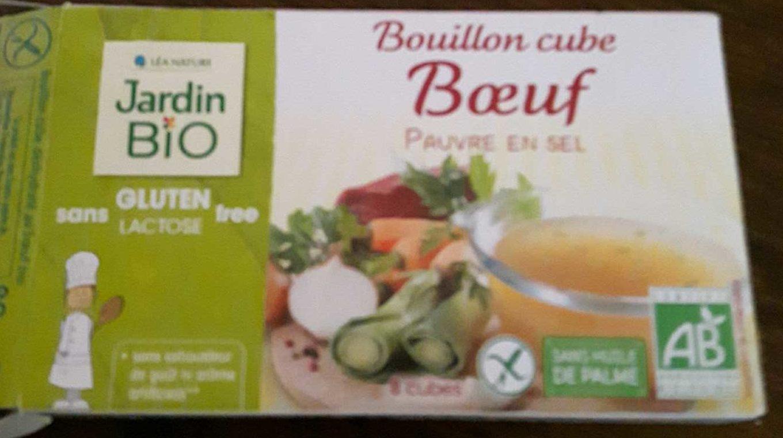 Bouillon Cube Boeuf Pauvre En Sel Sans Gluten - Produit - fr
