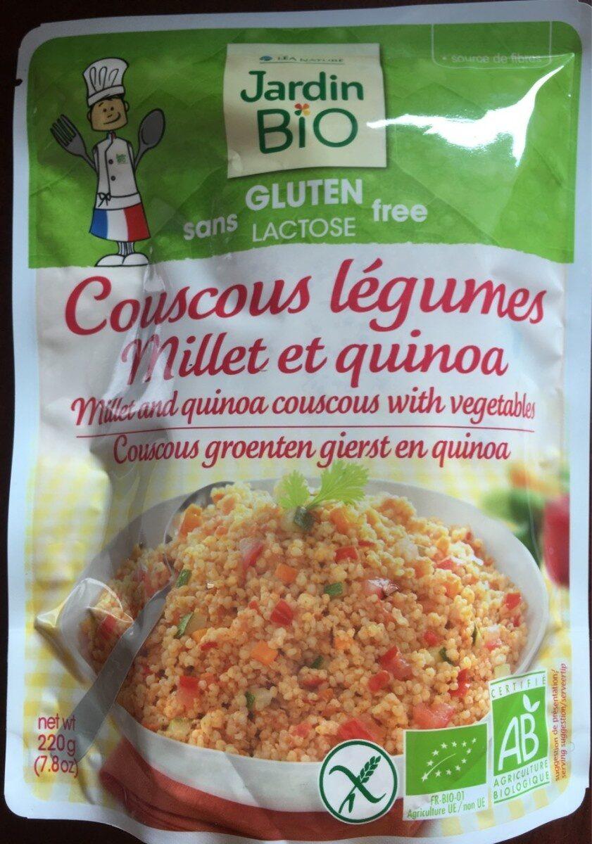 Coucous légumes millet et quinoa - Product - fr