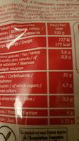 Coucous légumes millet et quinoa - Voedingswaarden - fr