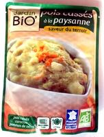 Pois cassés à la paysanne Bio - 300 g - Jardin Bio - Product - fr