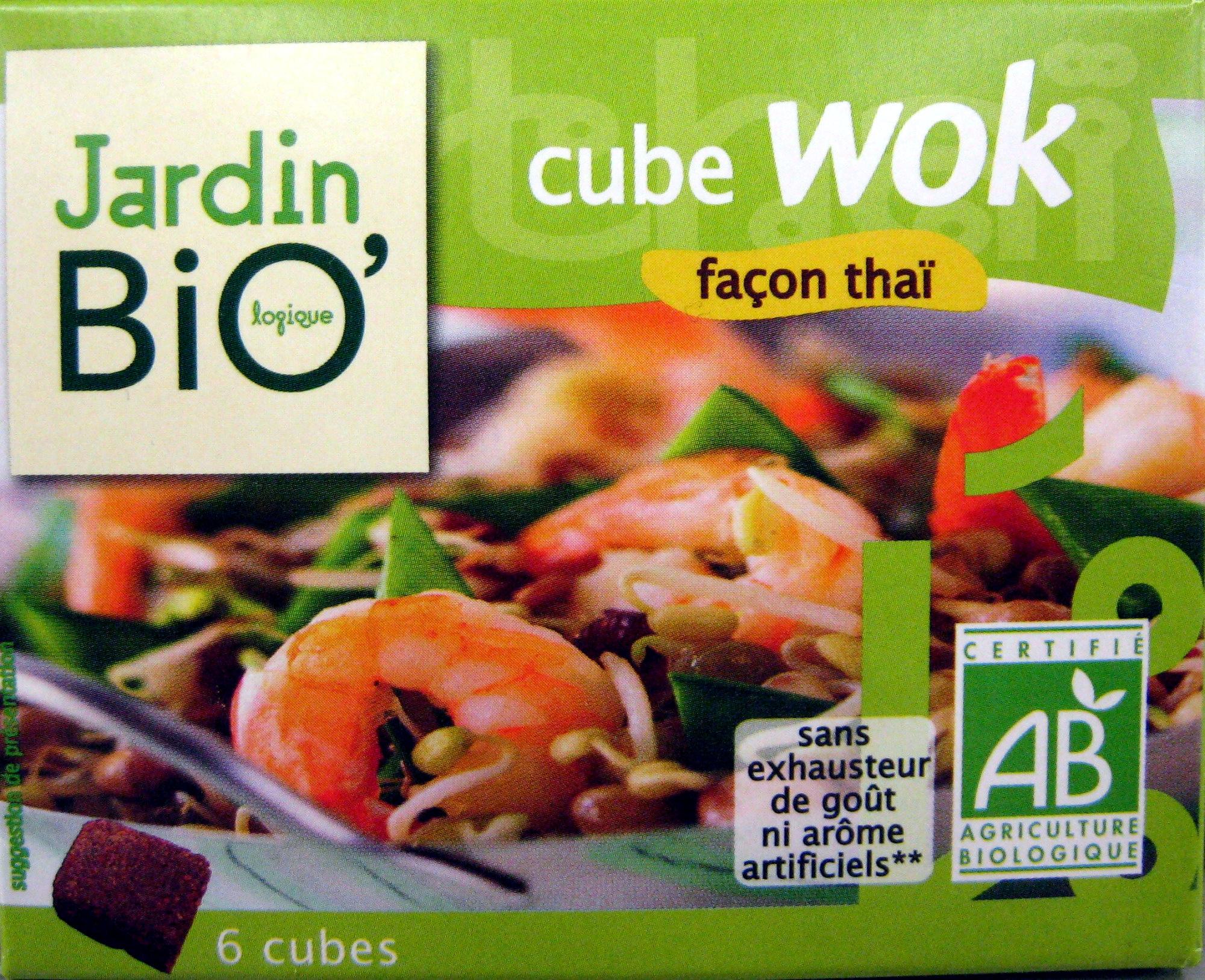 Bouillon cube wok fa§on tha¯ Jardin Bio 66 g 6 x 11 g