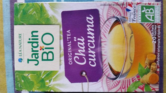 Original Tea Chai Turmeric Jardin Bio 20 Sachets